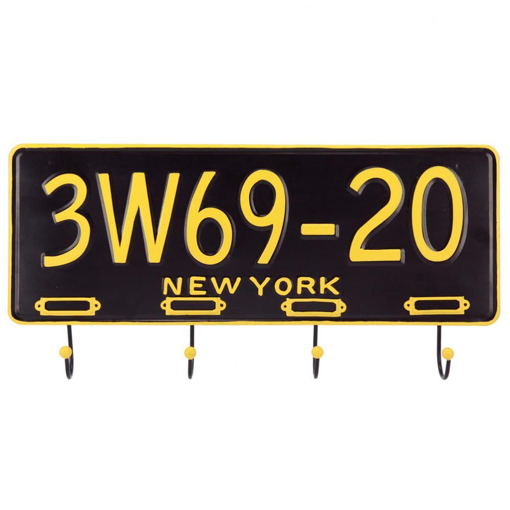 Un jour j irai new york avec toi fais toi la belle - Patere maison du monde ...