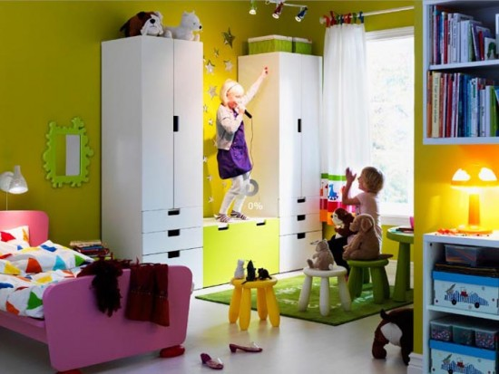 chambres d enfants by ikea fais toi la belle. Black Bedroom Furniture Sets. Home Design Ideas