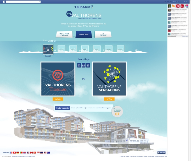 My Val Thorens - page Vote - FR