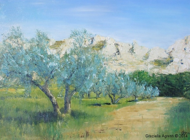 Les-oliviers-Provence