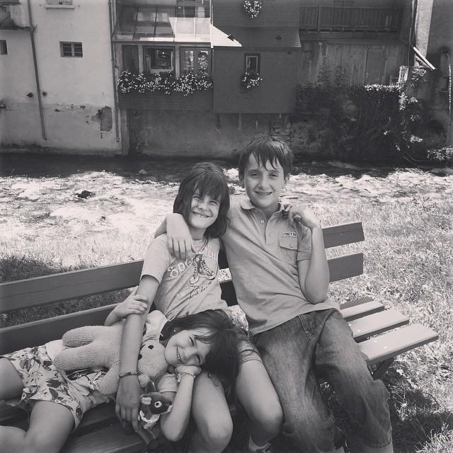 les enfants à Arreau