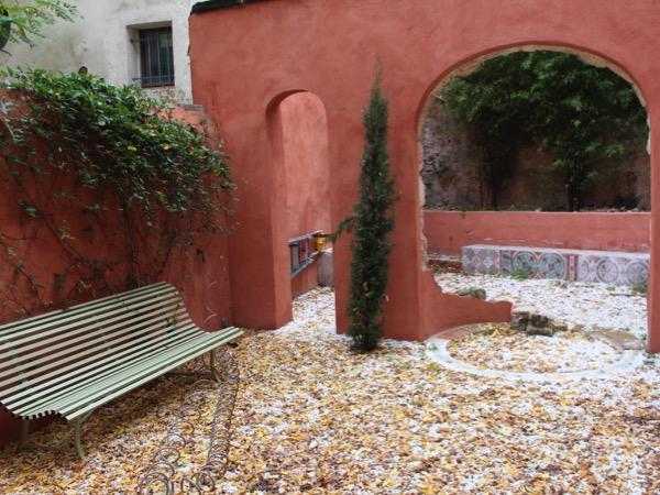 patio des maisons de Marseille