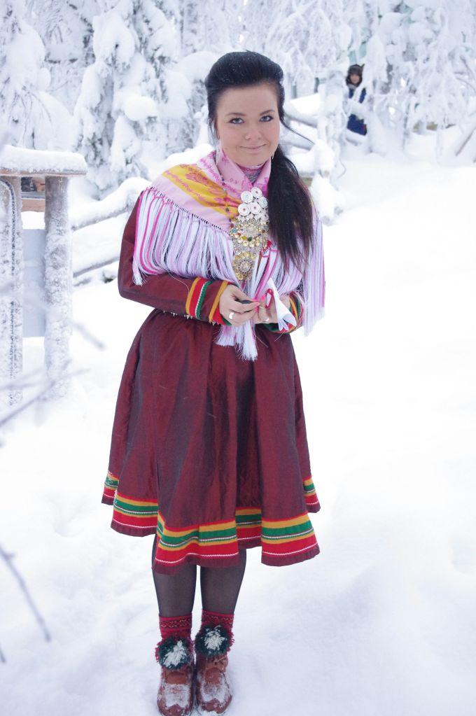 En tenue locale : Laponie