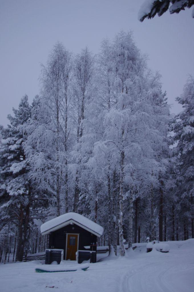 Une cabane en Laponie