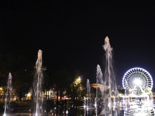 coulée verte et roue à Nice