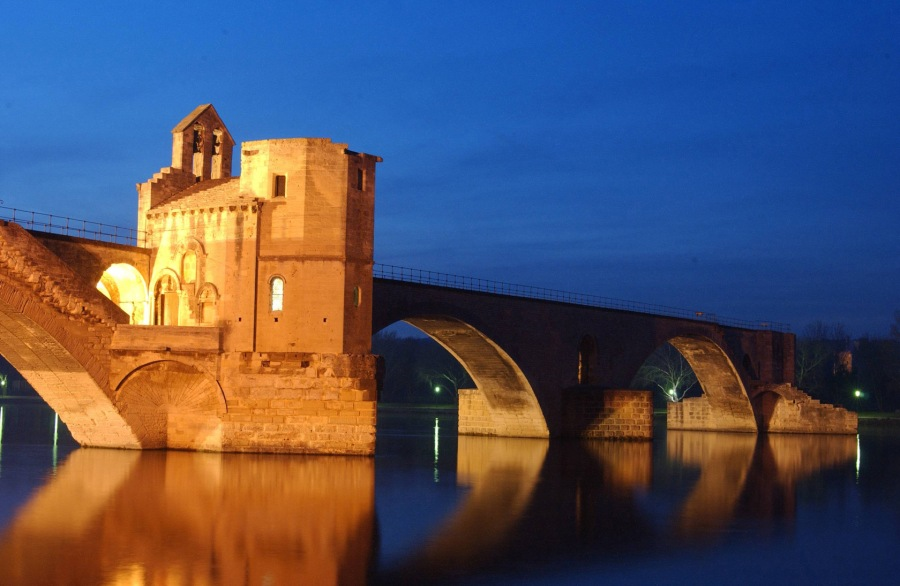 Le Pont d'Avignon en3D