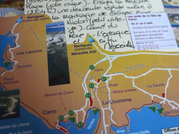 Carnet Bouches du Rhône