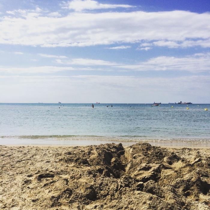 La mer, la plage etmoi