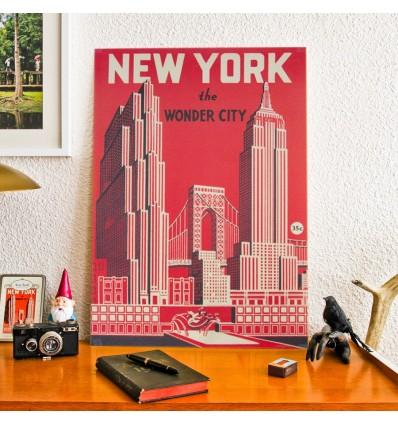 affiche-new-york-vintage