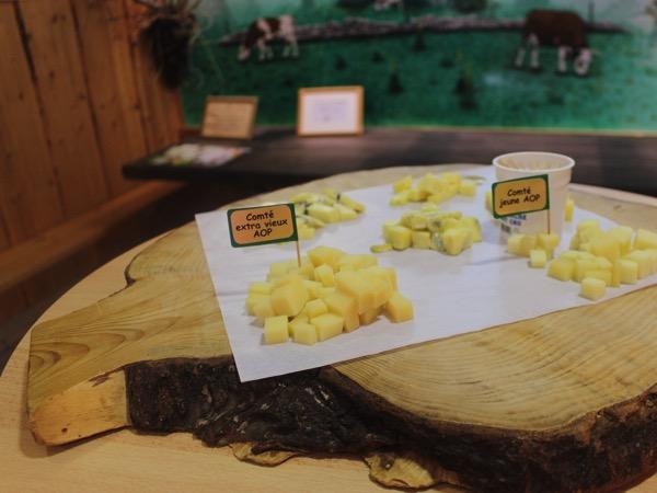 fromages du haut jura