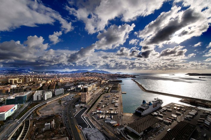 Marseille vue desgrues