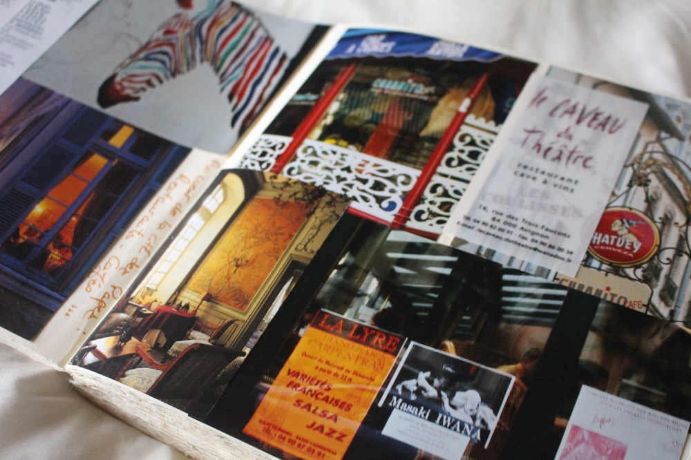 carnet de voyage Avignon