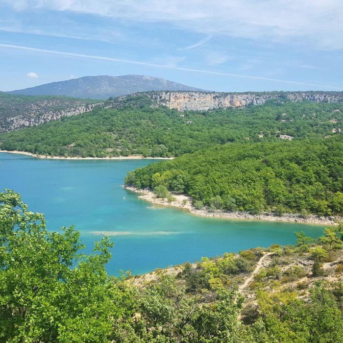 Le lac deSainte-Croix