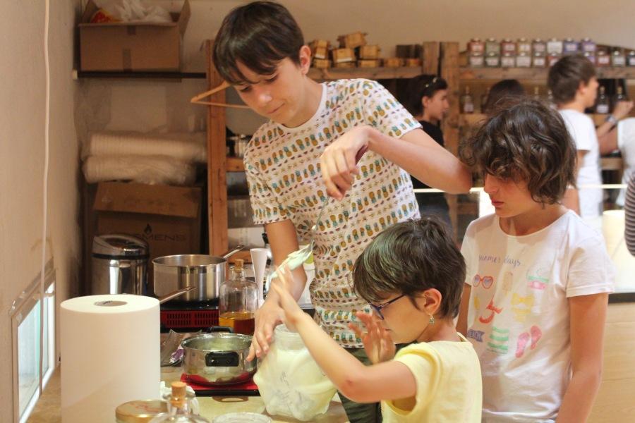 Atelier de fabrication de savonartisanal