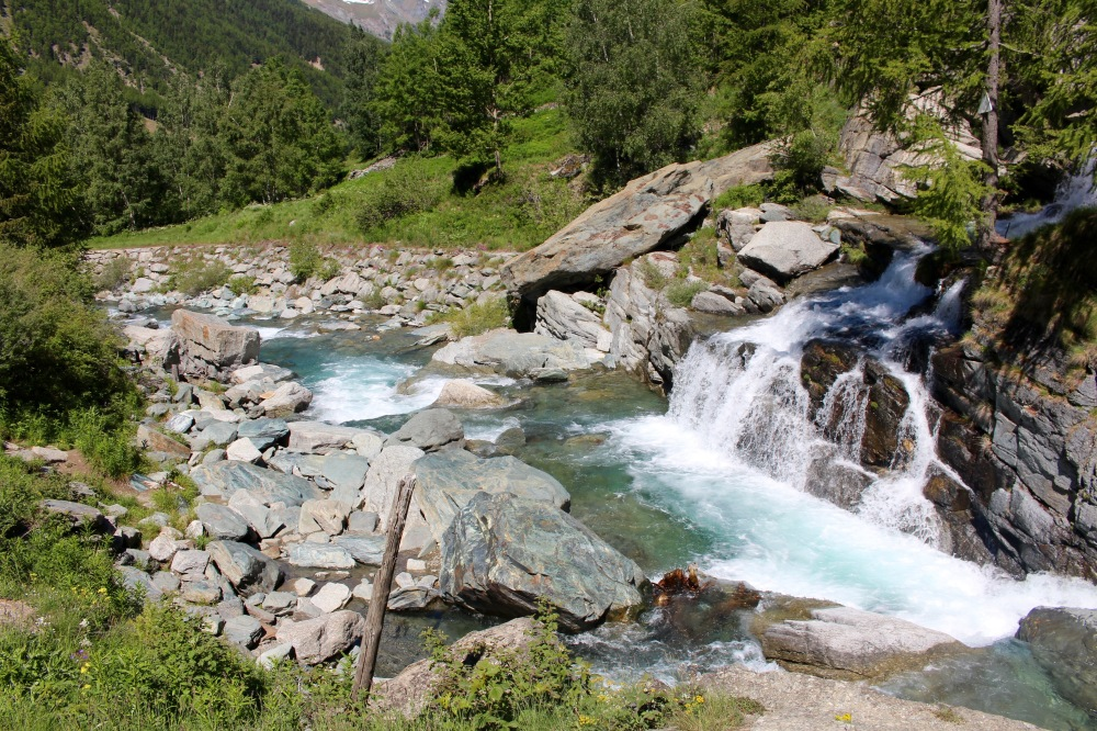 cascade du Lillaz Cogne Vallée d'Aoste