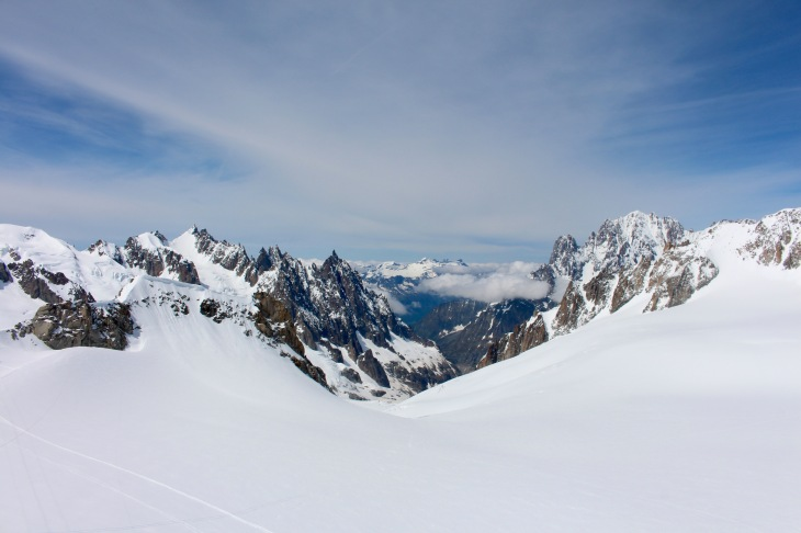 Sky Way to Mont-Blanc