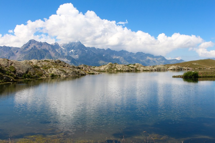 Randonner au lac Besson à L'Alped'Huez