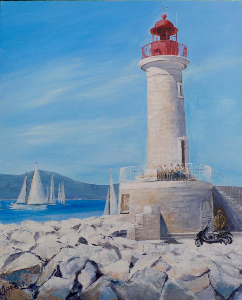 Le phare de St Tropez n°2