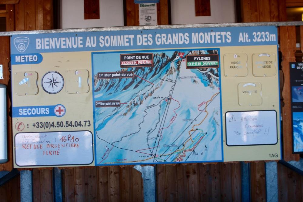 Les Grands Montets Chamonix