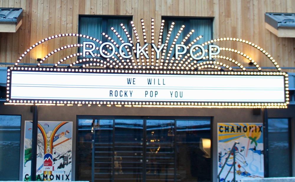Rocky Pop chamonix