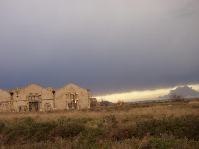 Berre l'Etang soird'orage