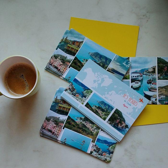 Carte postale d'Italie